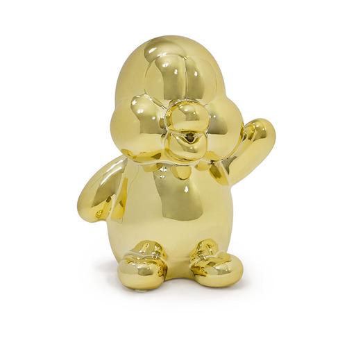 Made by humans|閃光企鵝存錢筒(金色)