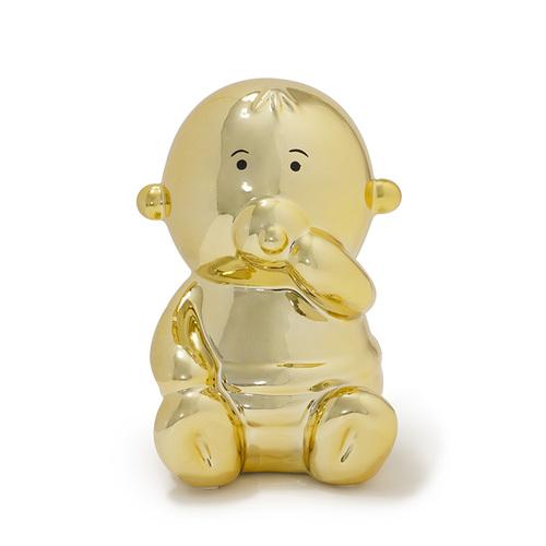 Made by humans|閃光寶寶存錢筒(金色)