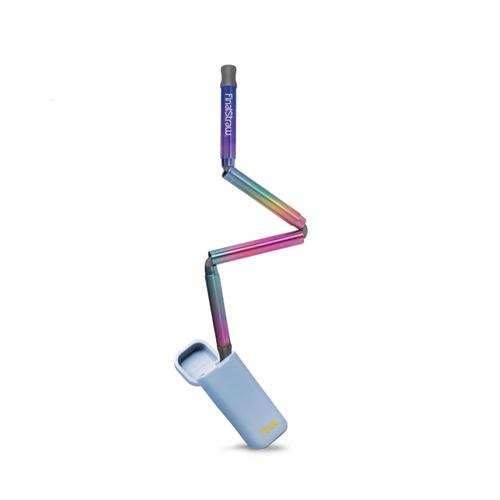 FinalStraw 折疊式不鏽鋼環保吸管-海洋藍(彩虹吸管)