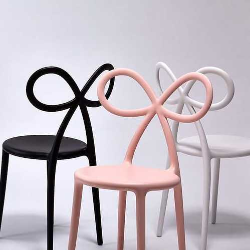 Qeeboo 蝴蝶結造型椅(3色可選)