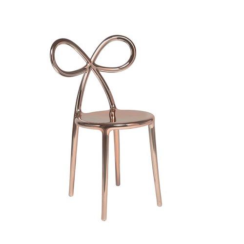 Qeeboo|蝴蝶結造型椅-金屬系列(3色可選)