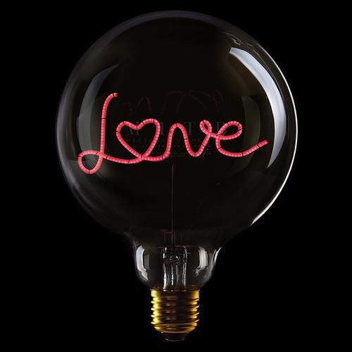 Message in the bulb|字母造型LED燈泡(單排多款可選)