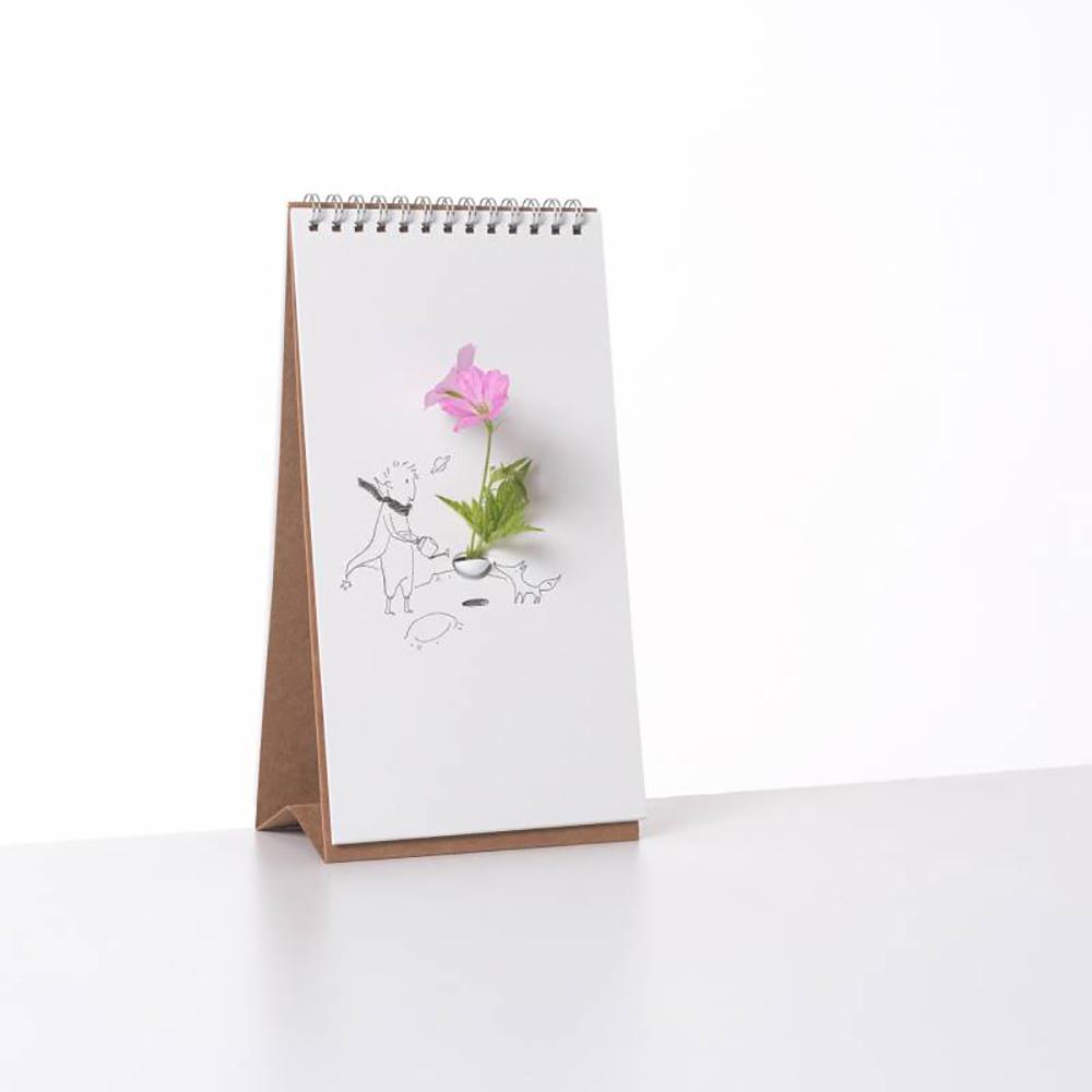 SPEXTRUM|翻頁花器 - 卡通繪畫