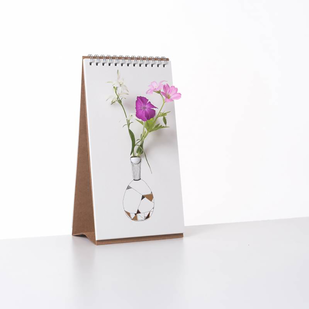 SPEXTRUM|翻頁花器 - 燙金花瓶