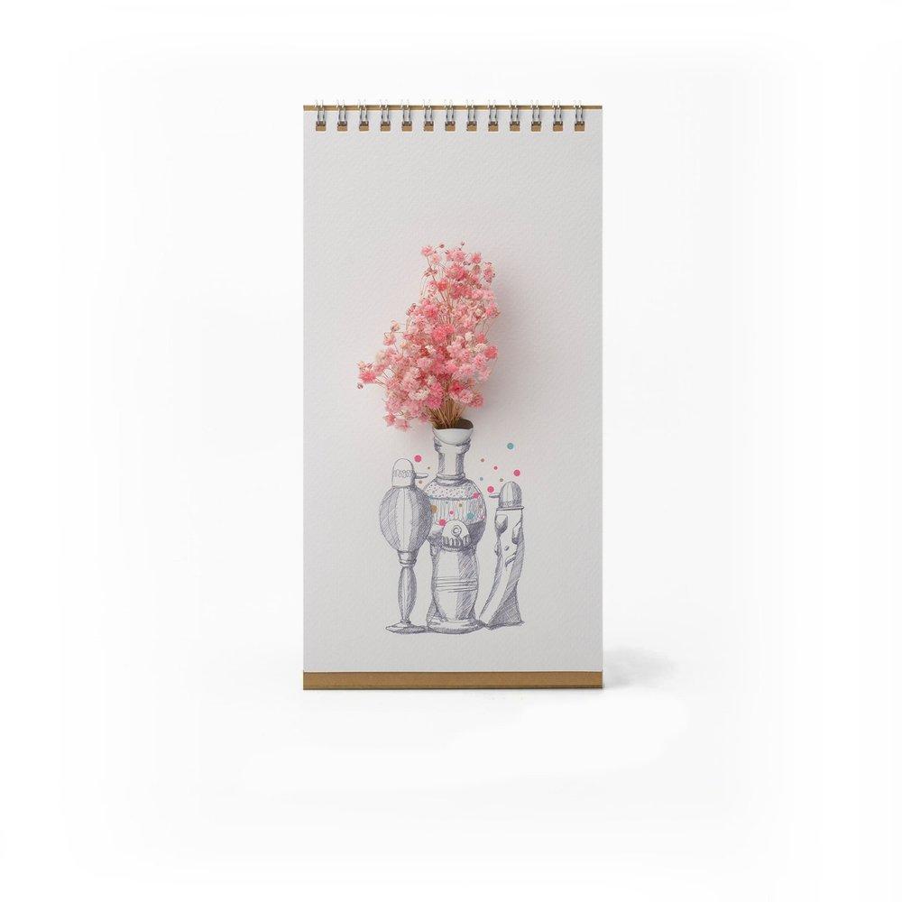SPEXTRUM|翻頁花器 - 彩色花瓶