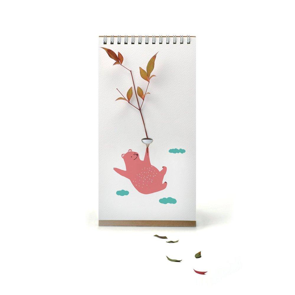 SPEXTRUM 翻頁花器 - 彩色動物