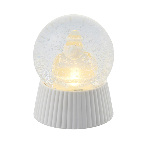 SIRIUS|透明雪花水晶球燈(聖誕老人)