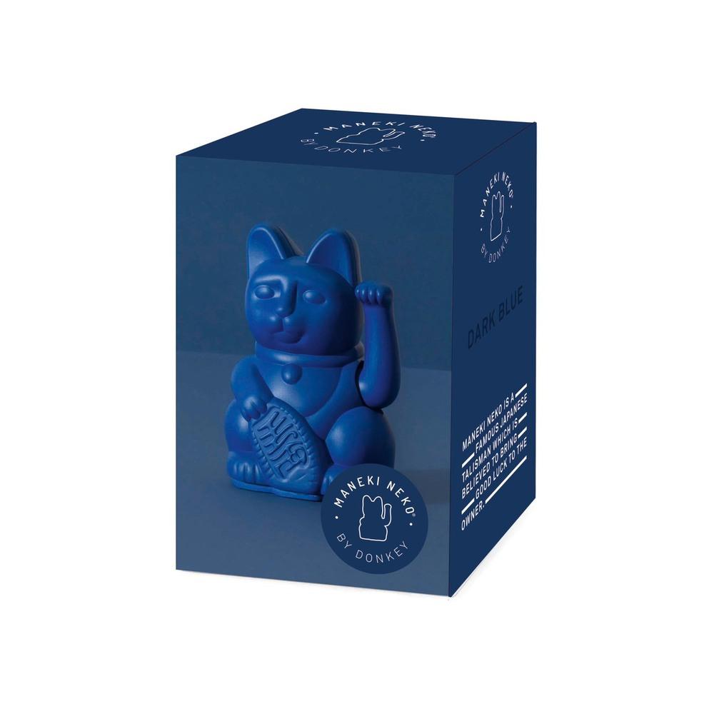 Donkey|幸運繽紛招財貓(迷你) - 深邃藍