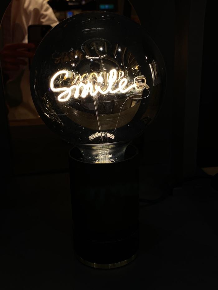 Message in the bulb|金屬底座(大理石白/大理石黑)