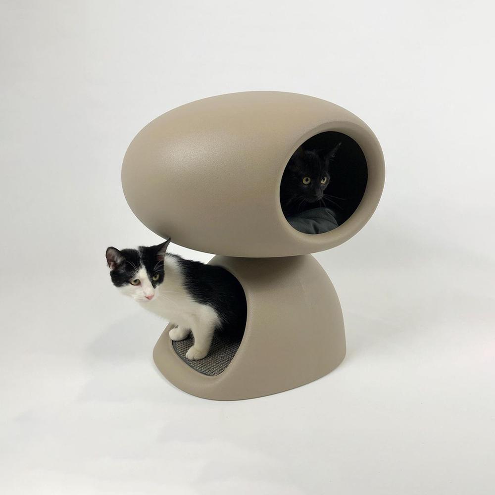 Qeeboo|造型貓屋(2色可選)