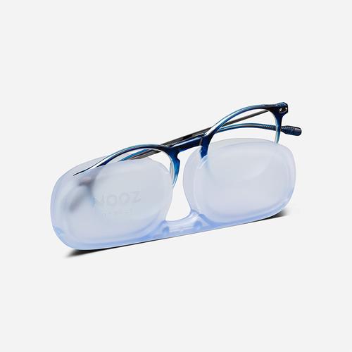 NOOZ|抗藍光平光橢圓閱讀眼鏡-鏡腳便攜款(八款任選)