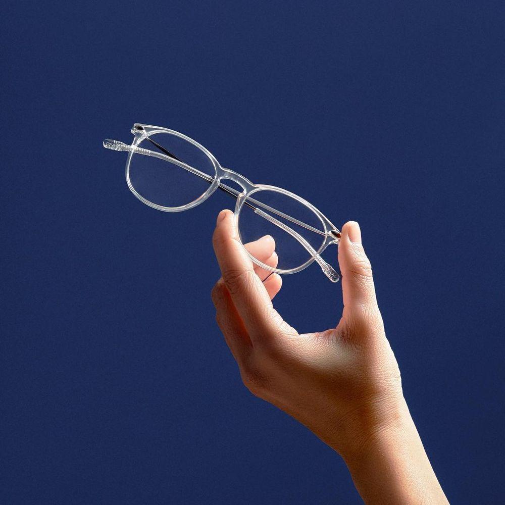 NOOZ|抗藍光平光矩形閱讀眼鏡-鏡腳便攜款(八款任選)