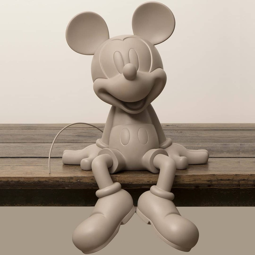 Leblon Delienne|米奇坐姿造型雕塑限量版(三色-黑/白/灰褐)