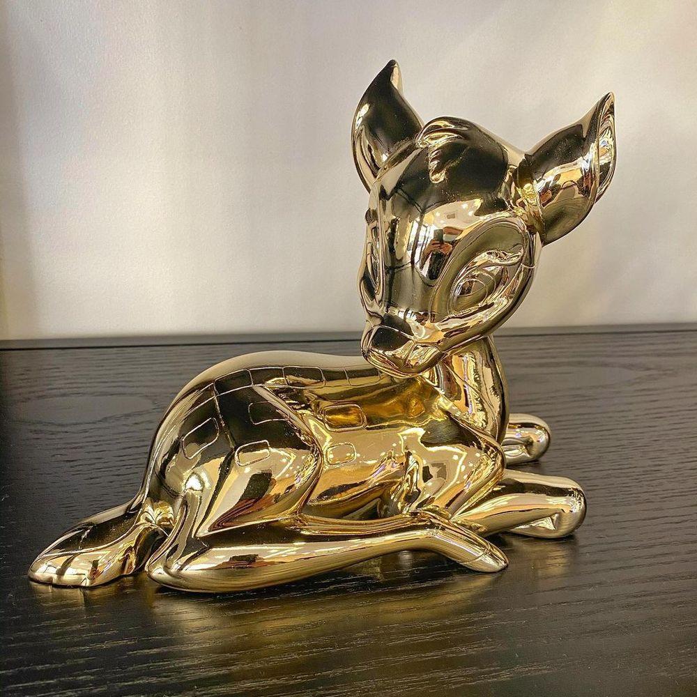 Leblon Delienne|小鹿斑比造型雕塑(金色)
