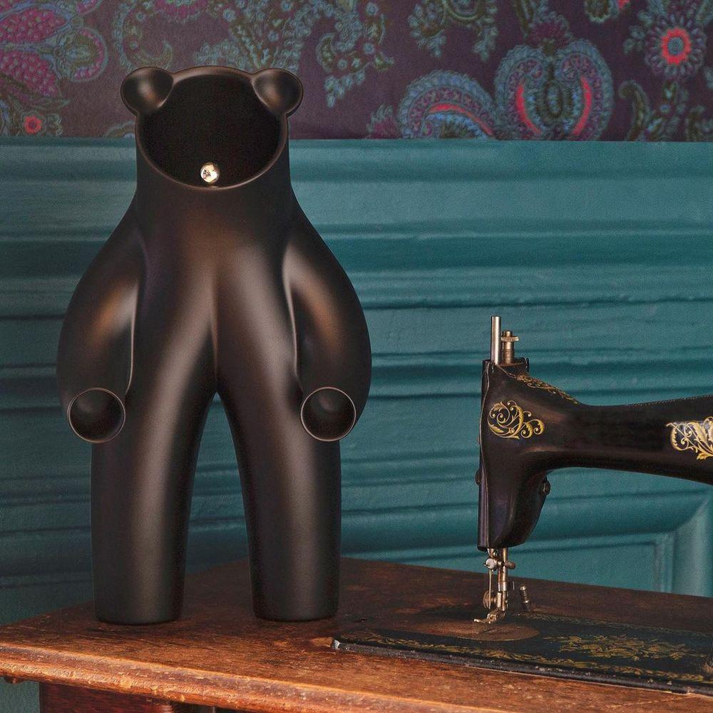 Leblon Delienne|幸運小熊造型雕塑(黑/白)