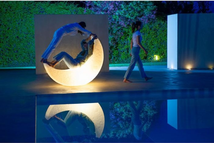 Seletti|My Moon月亮造型座椅燈