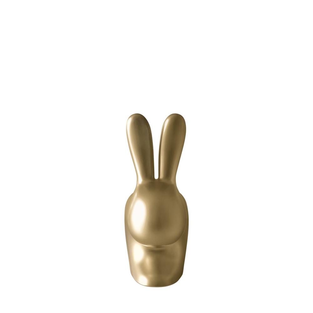 Qeeboo 兔子小造型椅(沙金)