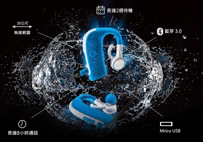 (複製)BlueAnt|PUMP LITE 2 藍牙運動耳機