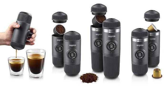 (複製)WACACO|隨身咖啡機 Nanopresso  (黑灰色)