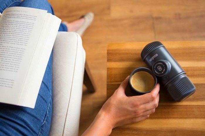WACACO 華酷 Nanopresso 隨身咖啡機 + 咖啡膠囊套組 - 馬上變身 膠囊咖機