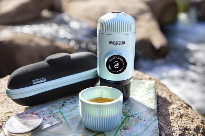 (複製)WACACO NANOPRESSO旅途 夏暑破浪 隨身咖啡機(含硬殼保護套)