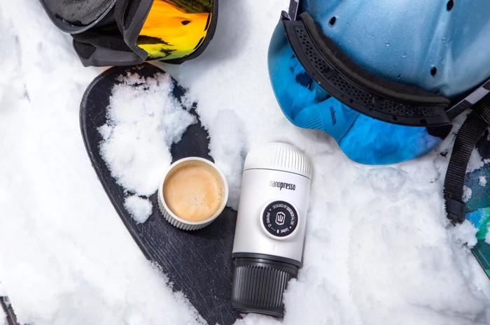 (複製)WACACO Nanopresso 隨身咖啡機 森林綠(含專用硬殼保護套)