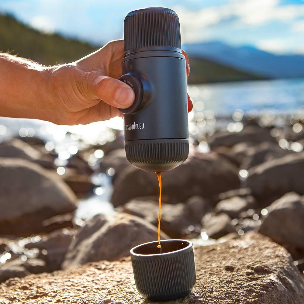 WACACO|隨身咖啡機 Nanopresso  (黑灰色)