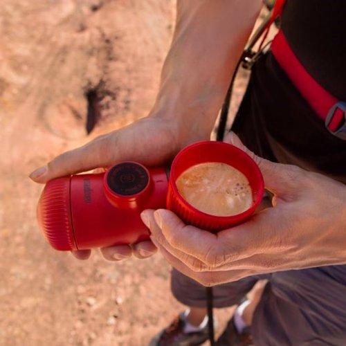 【獨家新色】WACACO|隨身咖啡機 Nanopresso  (紅色)