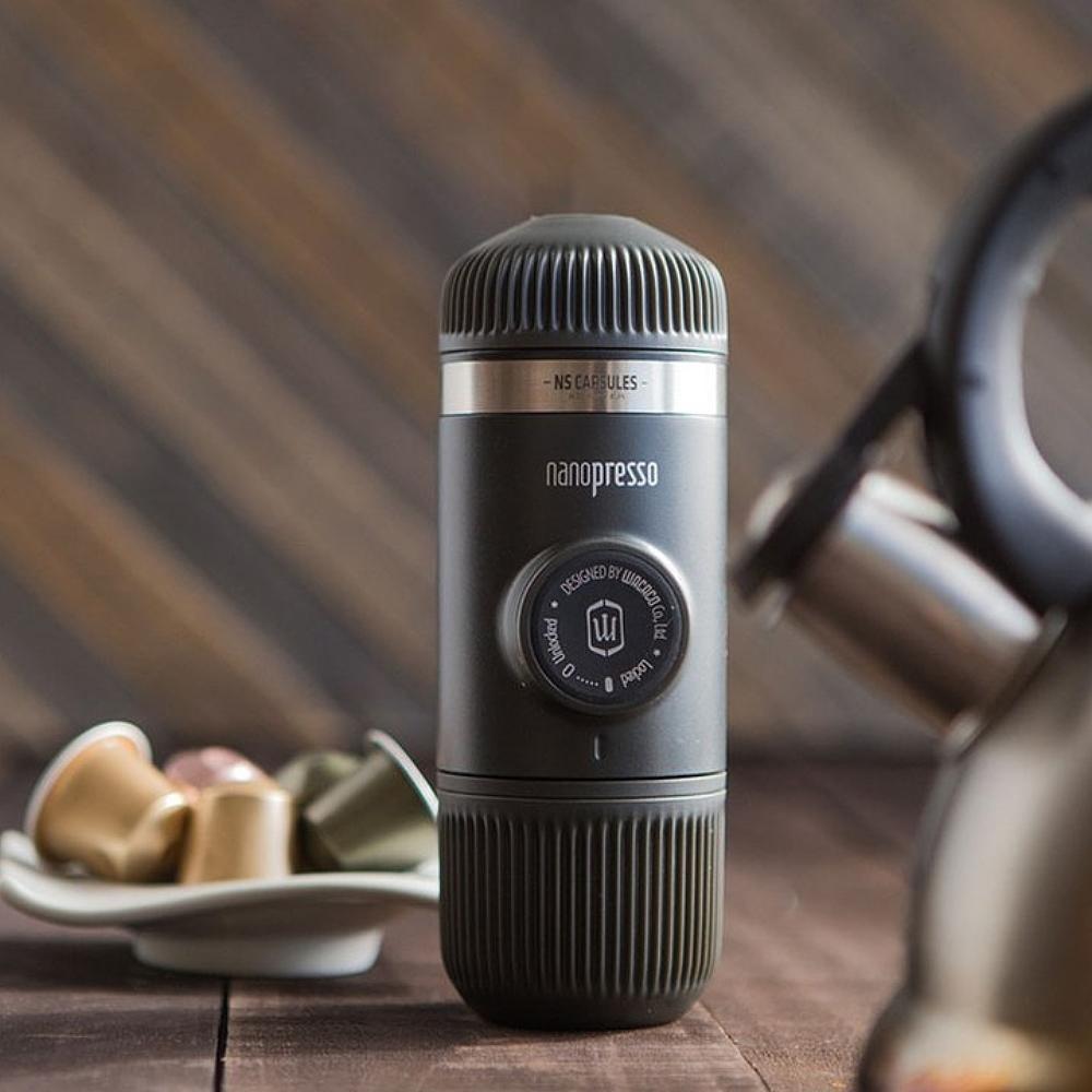 WACACO|Nanopresso 隨身咖啡機 + 咖啡膠囊套組