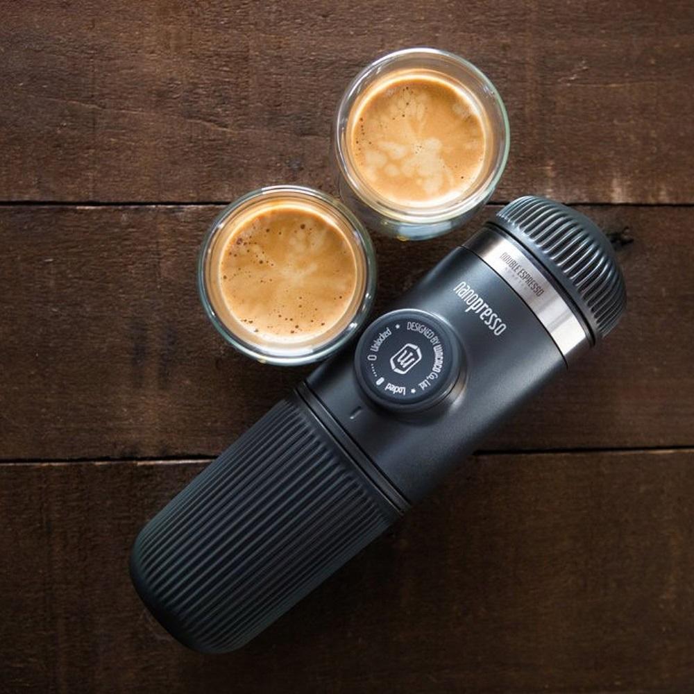 WACACO| Nanopresso 隨身咖啡機 + 雙倍濃縮咖啡套組