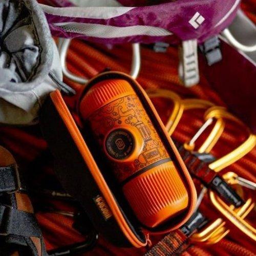 WACACO|Nanopresso 塗鴉板 (橘色)  隨身咖啡機+硬殼保護套