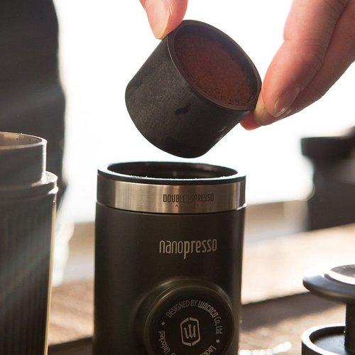 WACACO|Nanopresso隨身咖啡機 + NS膠囊接頭 +Barista Kit 雙倍濃縮咖啡套件