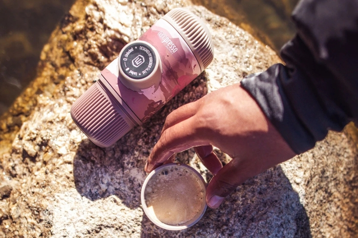WACACO|NANOPRESSO旅途 秋月垂竿 隨身咖啡機(含硬殼保護套)