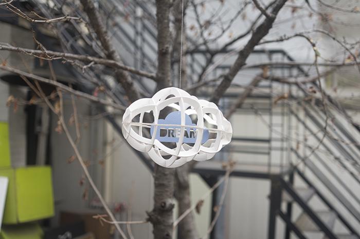 (複製)韓國 TUNAPAPER|3D 紙雕掛飾 Cloud