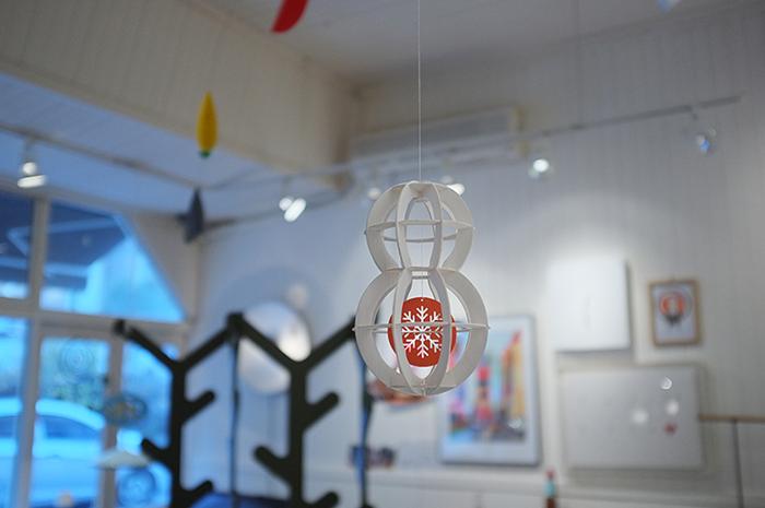 韓國 TUNAPAPER|3D 紙雕掛飾 SNOWMAN