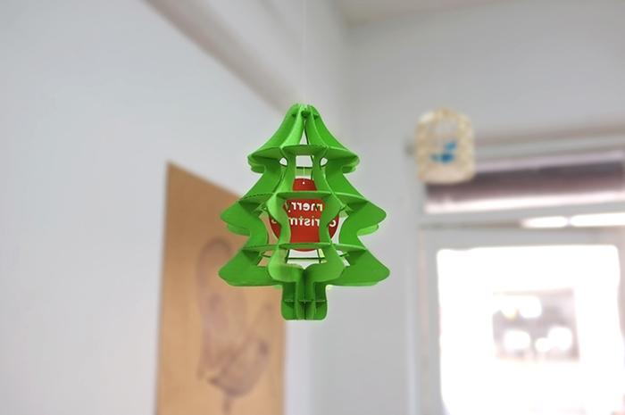 (複製)韓國 TUNAPAPER|3D 紙雕掛飾 XMAS TREE