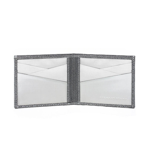 StewartStand|不鏽鋼RFID防盜男短夾 3D Box