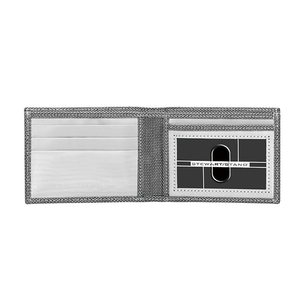 StewartStand|不鏽鋼RFID防盜男短夾 Checkered (ID)