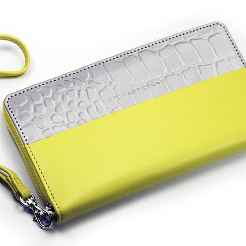 StewartStand|不銹鋼RFID防盜女用手腕包 Yellow