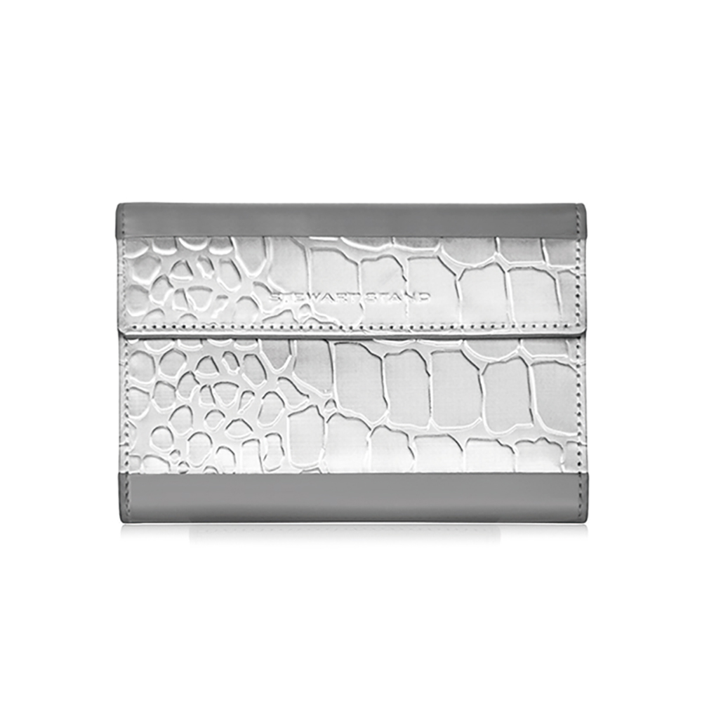 StewartStand|不鏽鋼RFID防盜護照包 Grey