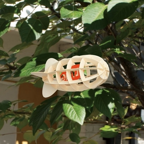 韓國 TUNAPAPER 3D 紙雕掛飾 Air Ship