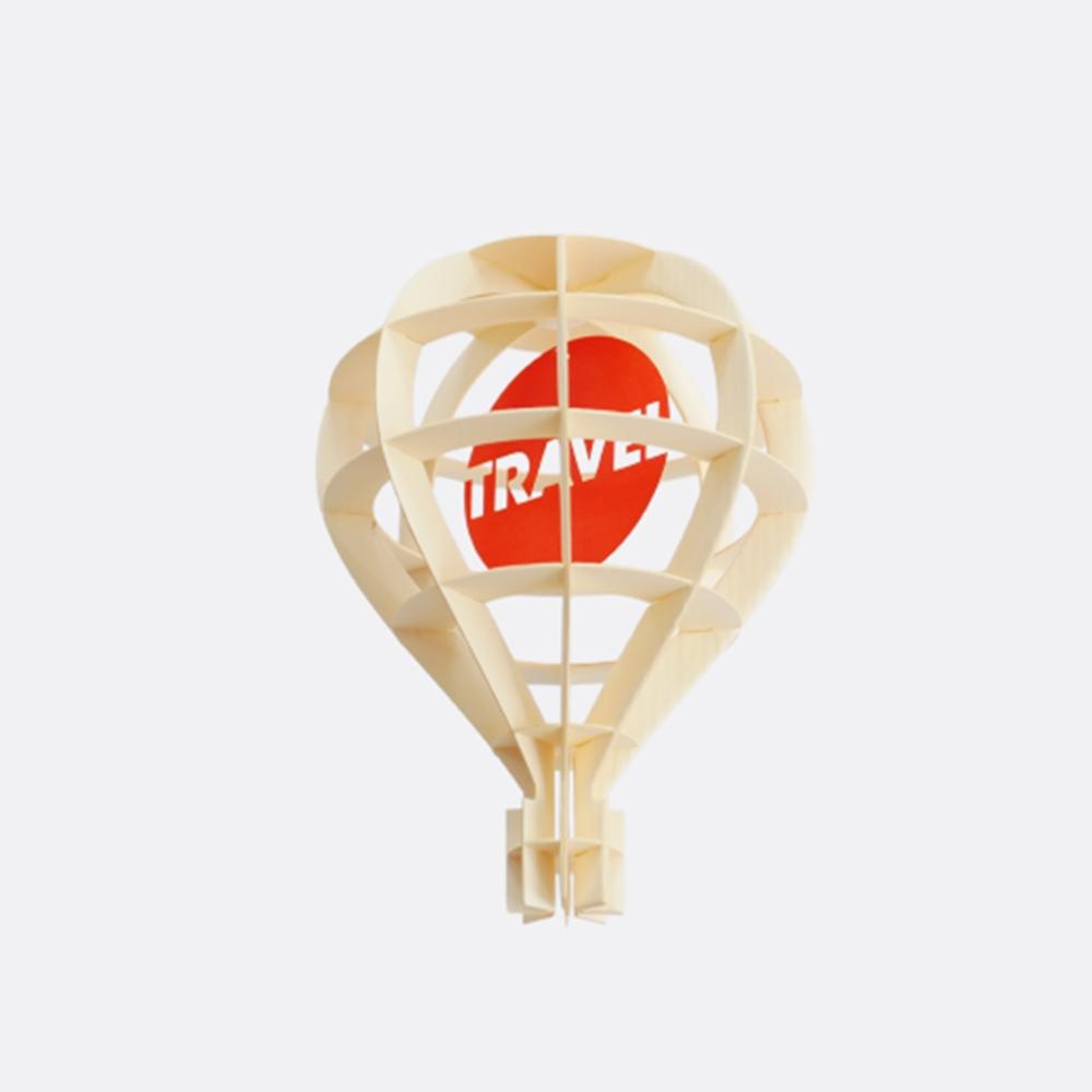 韓國 TUNAPAPER|3D 紙雕掛飾 Air Balloon