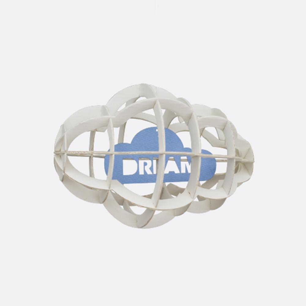 韓國 TUNAPAPER|3D 紙雕掛飾 Cloud