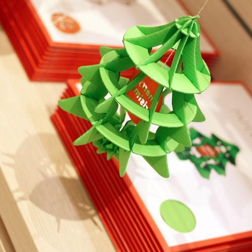韓國 TUNAPAPER|3D 紙雕掛飾 XMAS TREE