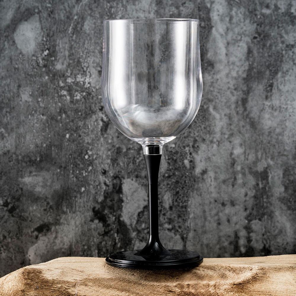 JoyRuby|BOSO 攜帶式摺疊紅酒杯(附收納袋)-黑