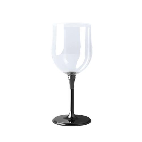 JoyRuby|BOSO 攜帶式摺疊紅酒杯(附硬殼)-黑
