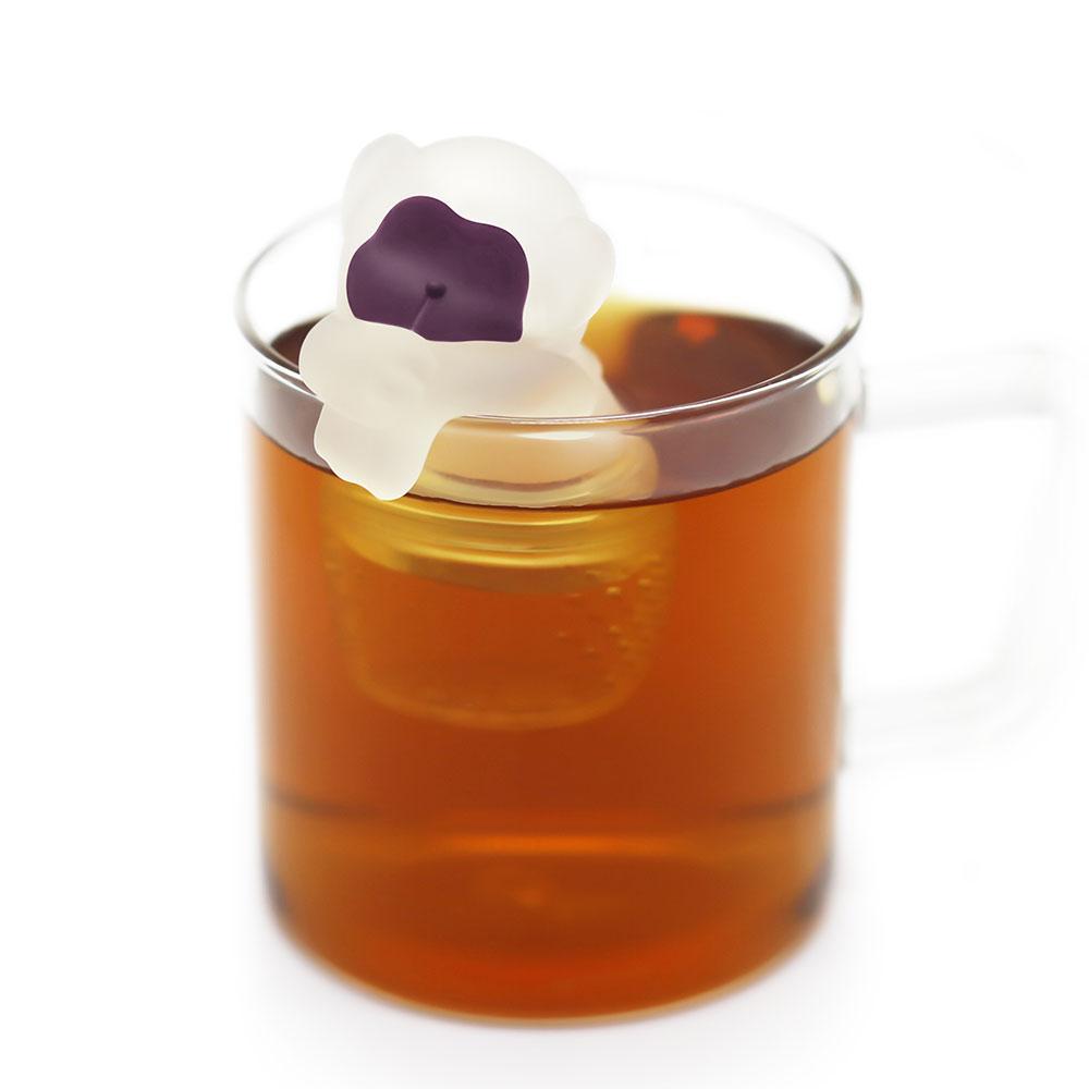 TOYOYO|溫泉猴造型泡茶器 - 粉色