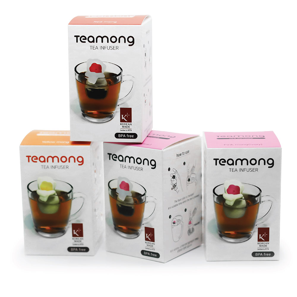 TOYOYO 溫泉猴造型泡茶器 - 象牙粉