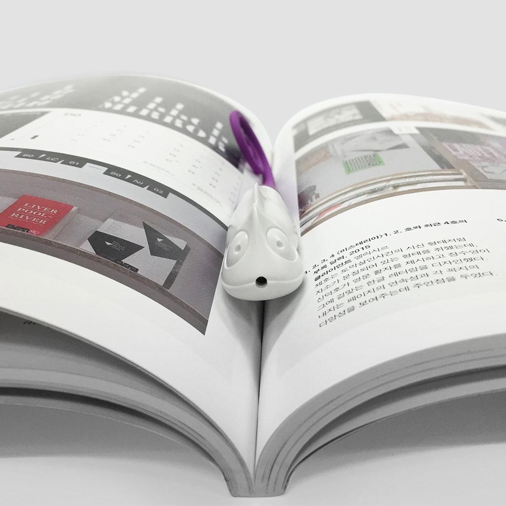 TOYOYO 變色龍短尺造型原子筆 - 深紫