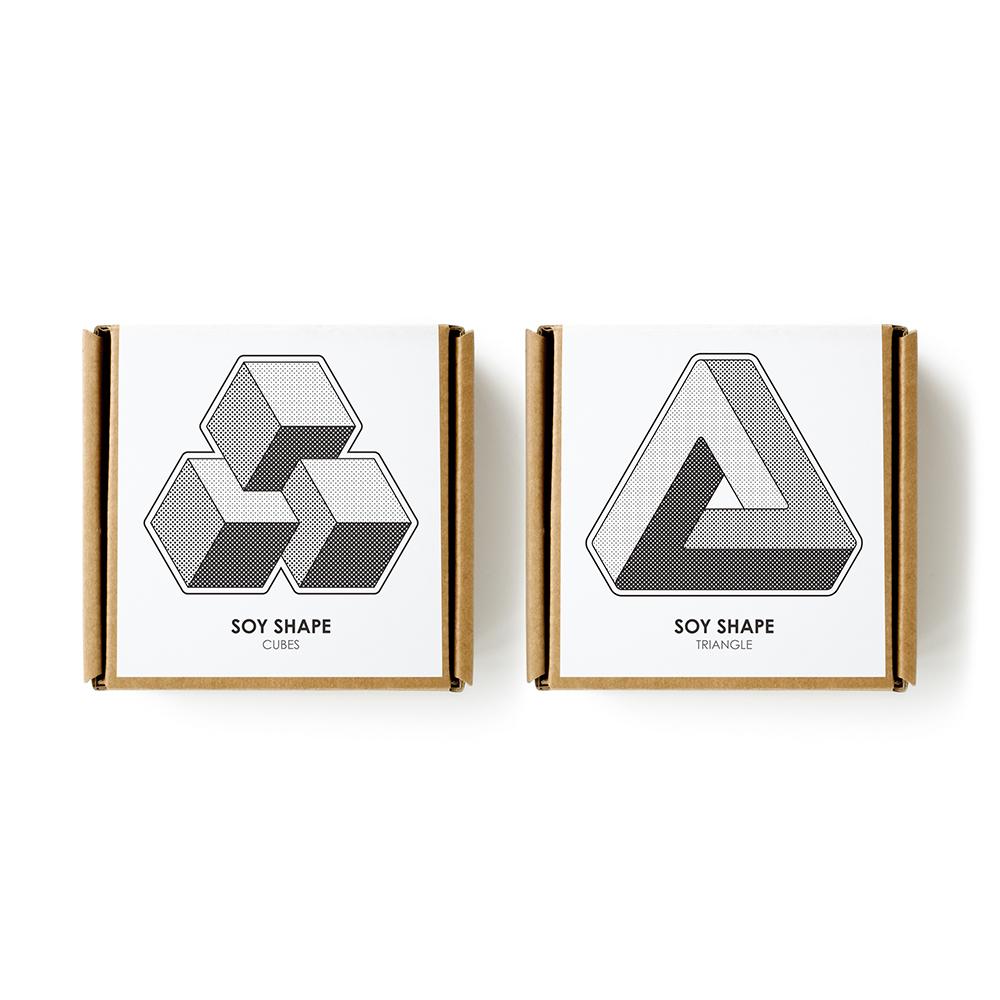 DUNCAN|3D立體陶瓷醬油碟-2入(三角)